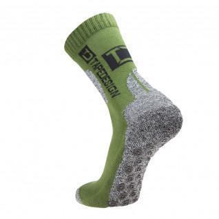 Halbhohe Socken für draußen Tape Design