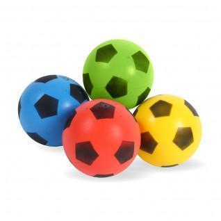 Set aus 4 Ballons sortierte Farben 17,5 cm Sporti France