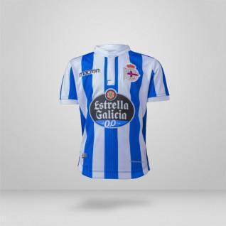 RCD La Coruña Heimtrikot der Junioren 2018/19