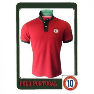 Polohemd Magisches Quadrat Portugal