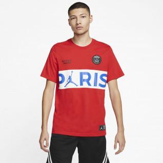 PSG T-Shirt x Jordan Wortmarke