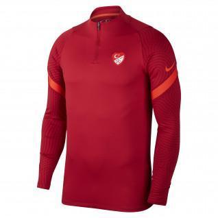 Türkisfarbenes Dri-Fit Strike Sweatshirt