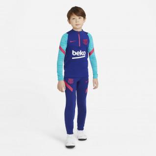 Trainingshose für Kinder FC Barcelone Strike