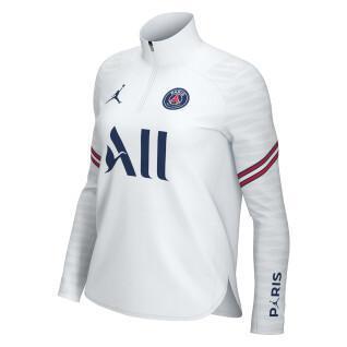 Damen-Sweatshirt für zu Hause PSG Dynamic Fit Strike 2021/22