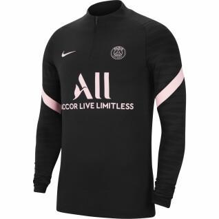 Sweatshirt für draußen PSG Strike 2021/22
