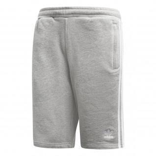adidas 3-Streifen Shorts grau