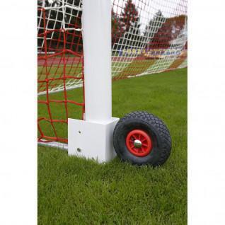 Räder für transportables 11-a-Seiten-Fußballtor Power Shot