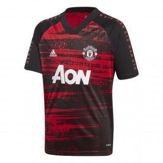 Aufwärmtrikot von Manchester United 2020/21