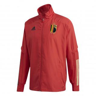 Aufwärm-Jacke Belgien 2020