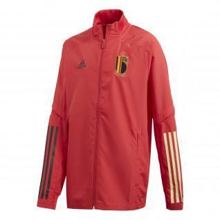Junior-Jacke vor dem Spiel Belgien 2020