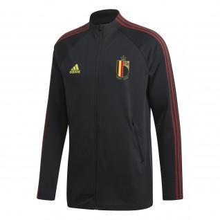 Jacke Belgien 2020 vor dem Spiel