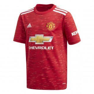 Manchester United Junior Home Trikot 2020/21