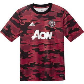 Junioren-Trikot von Manchester United vor dem Spiel 2020/21