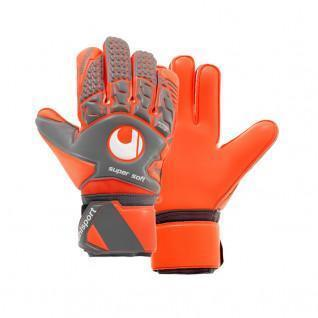 Uhlsport Aerored Supersoft-Handschuhe