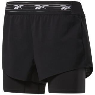 Damen-Shorts Reebok Epic Two-in-One