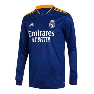 Langarmtrikot für draußen Real Madrid 2021/22