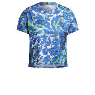 Damen-T-Shirt adidas Primeblue Fast Graphic