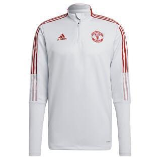 Trainings-Sweatshirt mit Reißverschluss Manchester United Tiro