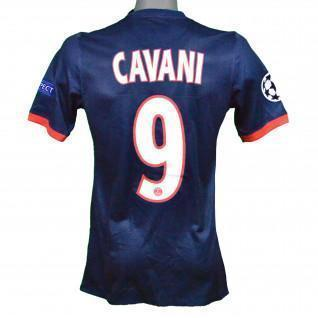 Echtes PSG 2013/2014 Cavani-Heimtrikot