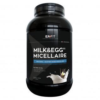 Milch & Ei 95 Mizellar Vanille EA Fit 2,2kg