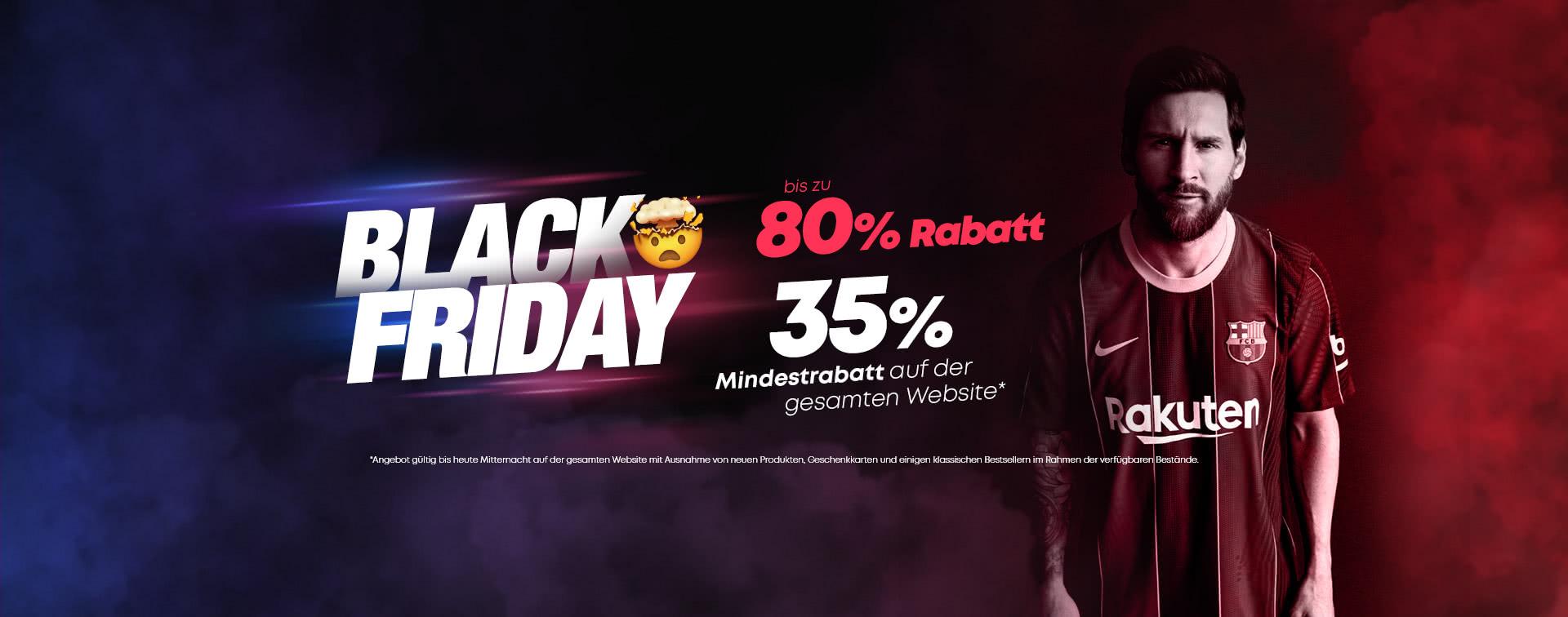 Black Friday 35%mindestrabatt